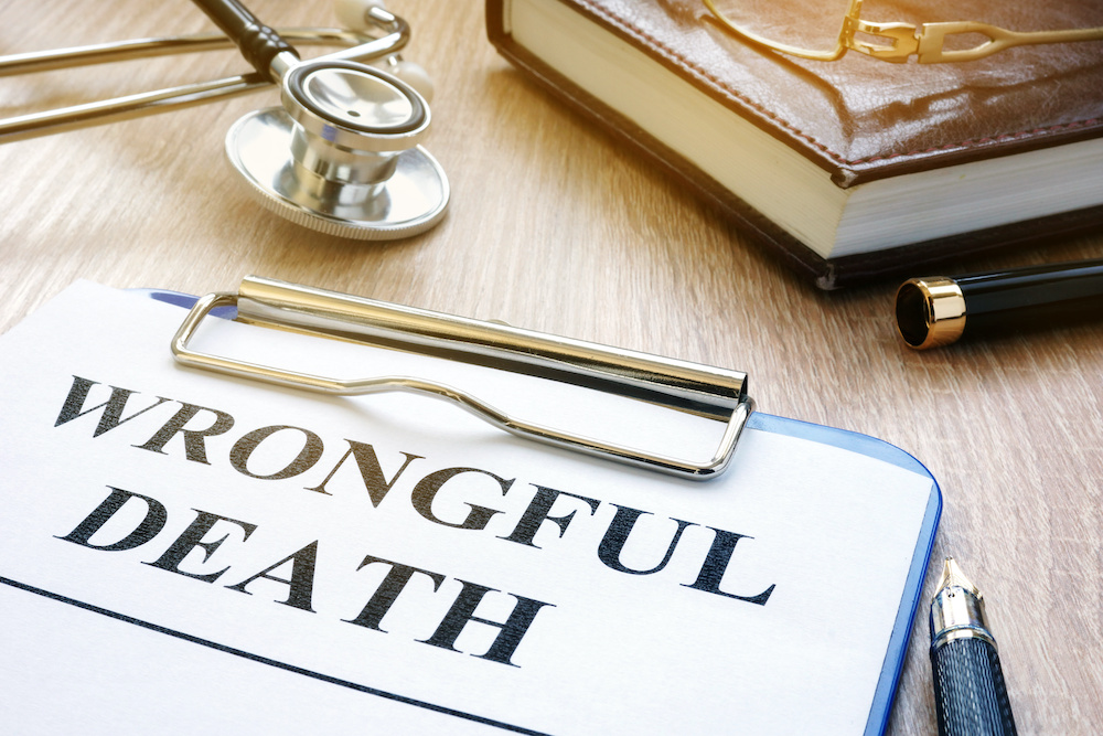 wrongful death form to fill out a claim for a wrongful death attorney